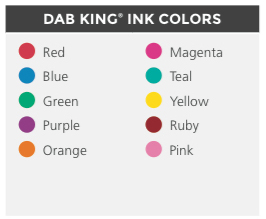 Dab King Colors