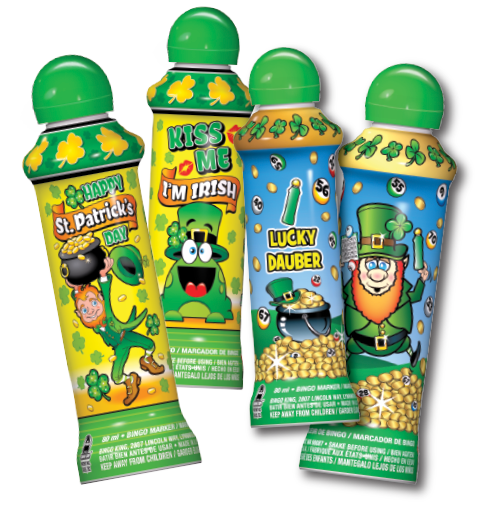 While Supplies Last St. Patrick's Day Bingo Ink