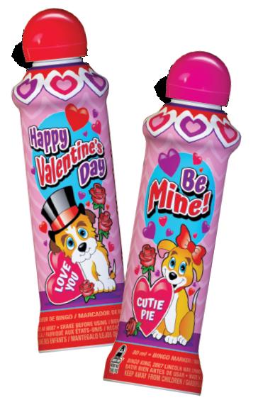 Valentine's Day Bingo Ink Markers