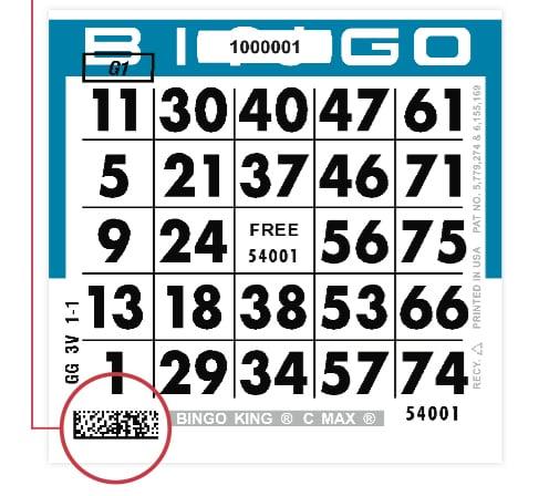 C MAX Bingo Paper